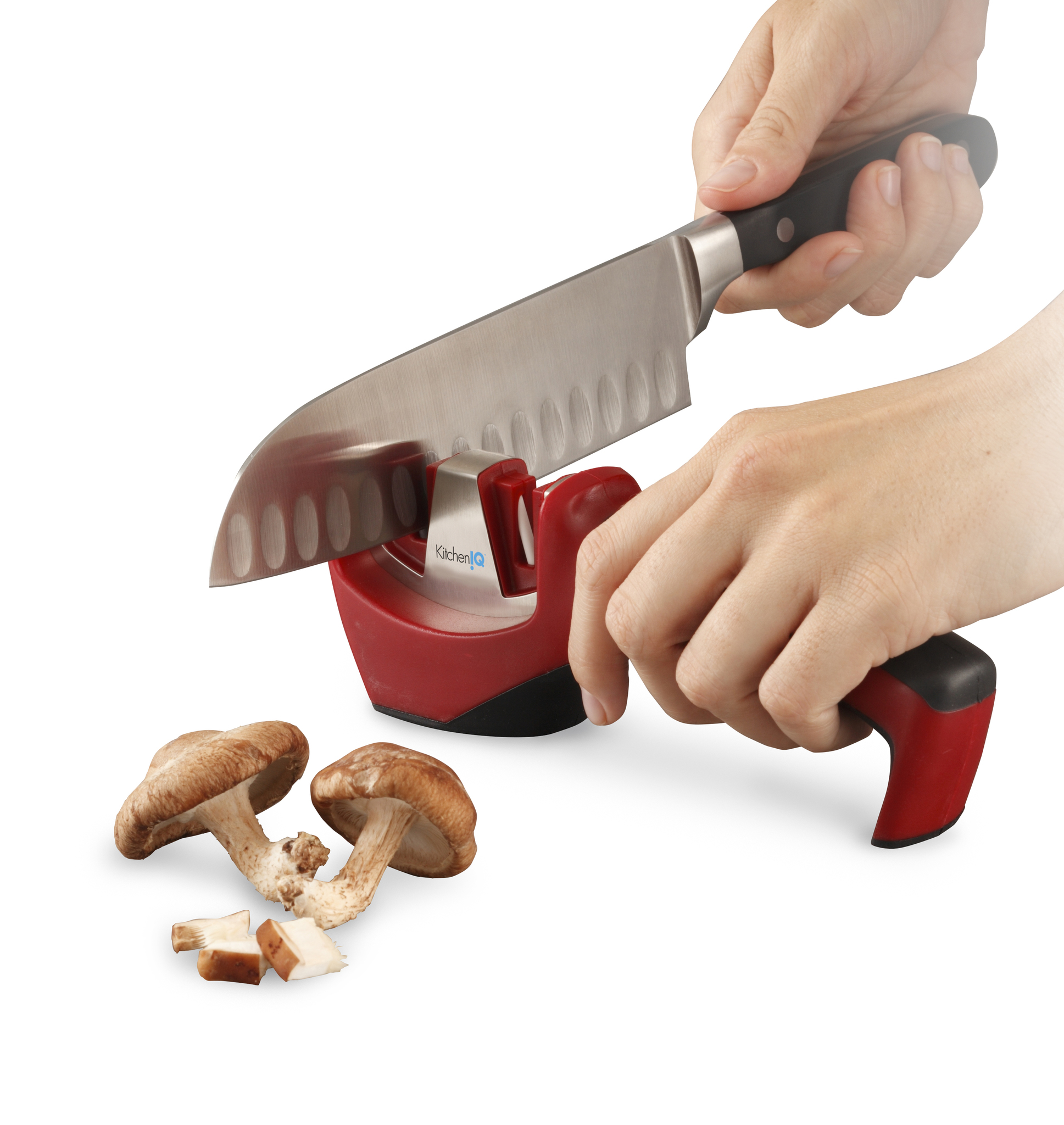 Точилка для ножей механическая KitchenIQ 50024