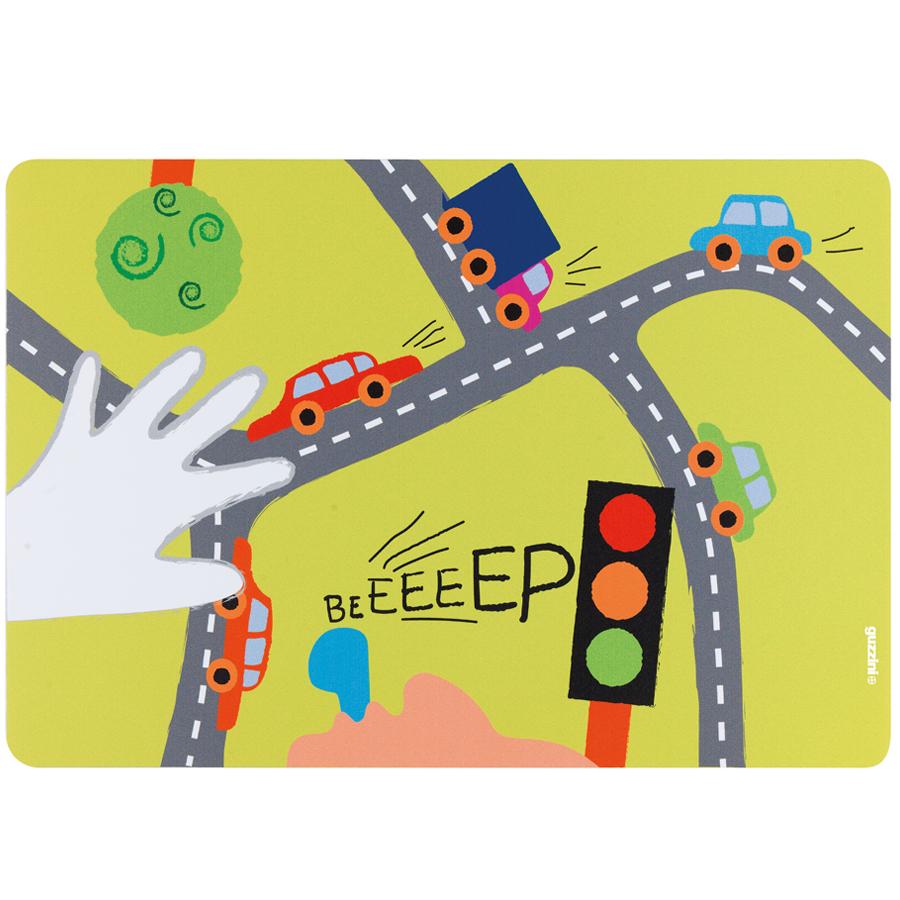 Купить Коврик сервировочный детский On the Road зеленый Guzzini 22606752GR