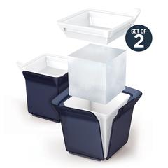 Форма для льда Cube черная Zoku ZK153