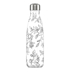 Термос Chilly's Bottles Line Drawing 500 мл Flowers B500LDFLR