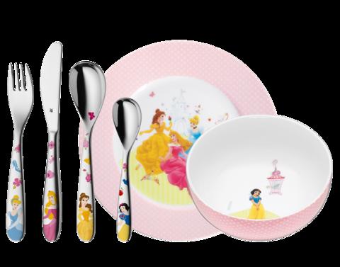 Набор детской посуды (6 предметов / 1 персона) WMF Prinzess 3201002559