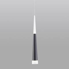 Подвесной светодиодный светильник Elektrostandard DLR038 DLR038 7+1W 4200K черный матовый