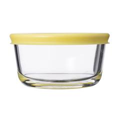 Контейнер для еды Smart Solutions стеклянный 236 мл желтый JV236RD
