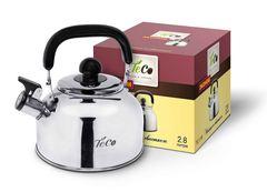 Чайник со свистком 2,8л TECO TC-116