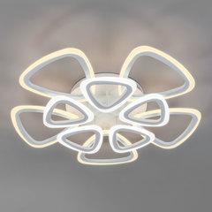 Потолочный светодиодный светильник с пультом управления Eurosvet Areo 90216/10 белый
