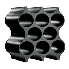 Подставка для бутылок SET-UP, чёрная Koziol 3596526