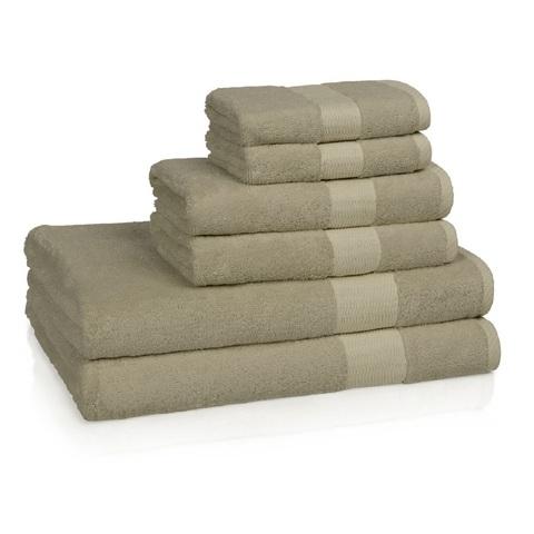 Полотенце банное 137х76 Kassatex Bamboo Sandstone BAM-109-SS