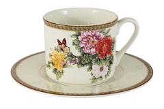 Чашка с блюдцем Японский сад IMARI 30796