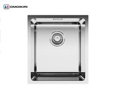Кухонная мойка из нержавеющей стали OMOIKIRI Notoro 39-IN (4993077)