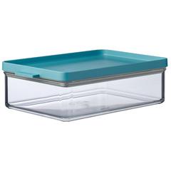 Контейнер для хранения прямоугольный Mepal 2,5л (мятная крышка) MEP-64180-92400