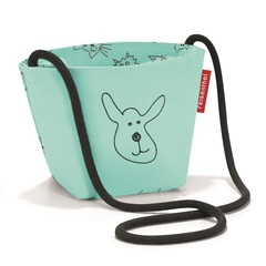 Сумка детская Minibag Cats and dogs mint Reisenthel IV4062