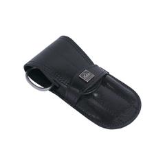 Маникюрный набор Erbe, 4 предмета, кожаный футляр, цвет черный 9188ER