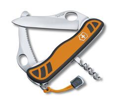 Нож Victorinox Hunter XS, 111 мм, 5 функций, с фиксатором лезвия, желтый 0.8331.MC9