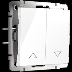 Выключатель жалюзи (белый) WL01-01-02 Werkel