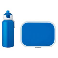 Набор детский ланч-бокс и бутылка для воды Mepal 400мл+750мл (синий) MEP-74101-14300