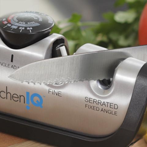 Точилка механическая для ножей KitchenIQ 50265