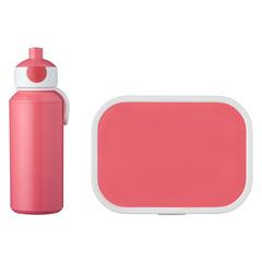 Набор детский ланч-бокс и бутылка для воды Mepal 400мл+750мл (розовый) MEP-74101-78200