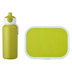 Набор детский ланч-бокс и бутылка для воды Mepal 400мл+750мл (лайм) MEP-74101-90500