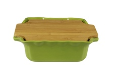 Форма с доской квадратная 30 см Appolia Cook&Stock BAMBOO GREEN 130030003
