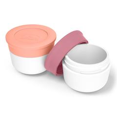 Соусницы с крышкой MB Temple малые 2 шт. pink flamingo + blush Monbento 20010022
