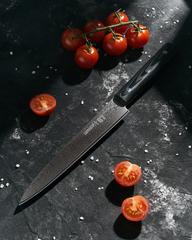 Нож кухонный для нарезки слайсер 195мм Samura 67 Damascus SD67-0045M