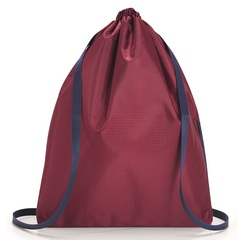 Рюкзак складной Mini maxi sacpack dark ruby Reisenthel AU3035