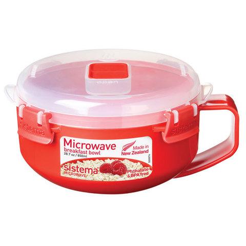 Чаша для завтрака 850 мл Sistema MICROWAVE 1112