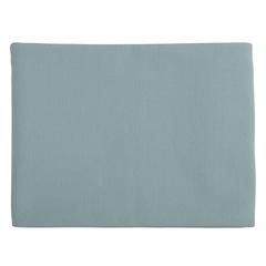 Покрывало из фактурного хлопка голубого цвета с контрастным кантом из коллекции Essential, 180х250 см Tkano TK20-BS0013