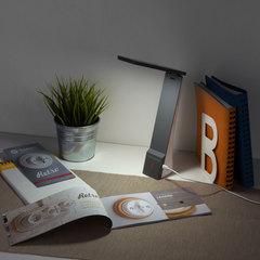 Настольный светодиодный светильник Desk белый/серый TL90450 Elektrostandard