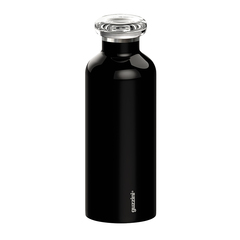 Термобутылка On the go 500 мл чёрная Guzzini 11670010