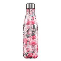 Термос Chilly's Bottles Tropical 500 мл Flamingo B500TRFLM