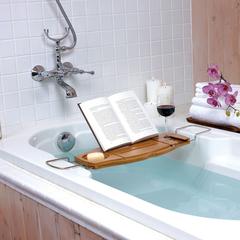 Полка для ванной Aquala дерево Umbra 020390-390