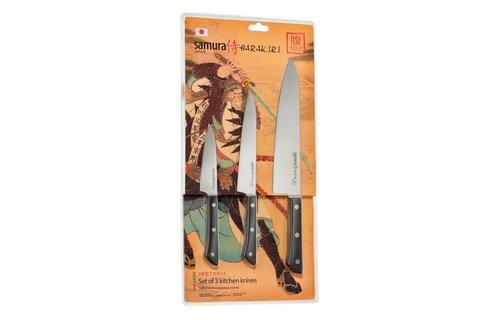 Набор из 3 ножей Samura HARAKIRI SHR-0220B