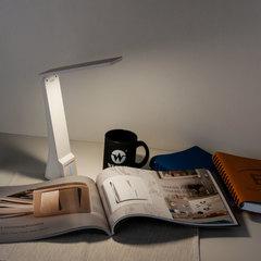 Настольный светодиодный светильник Desk белый/золотой TL90450 Elektrostandard