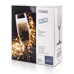 Набор из 2 бокалов для шампанского 200 мл SCHOTT ZWIESEL Frau арт. 111 062-2