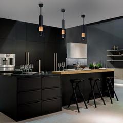 Подвесной светодиодный светильник Elektrostandard DLN001 DLN001 MR16 черный матовый/золото