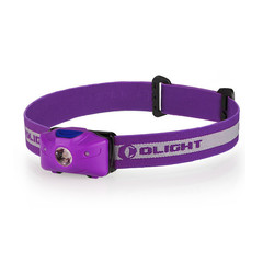 Фонарь светодиодный налобный Olight H05 Active (+2xAA) фиолетовый 907101