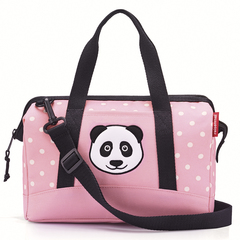 Сумка детская Reisenthel Allrounder S panda dots pink IQ3072