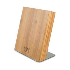 Подставка для ножей, бамбук, Chef, CH-002/BAM