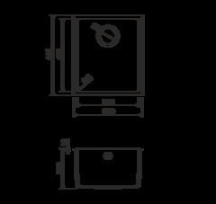 Кухонная мойка из искусственного гранита (Tetogranit) OMOIKIRI Bosen 38-U-DC (4993229)