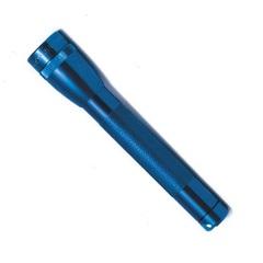 Фонарь MAGLITE Mini,  14.6 см, синий, 2-АА, пластиковая коробка M2A11LE