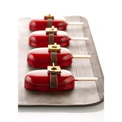 Набор из 100 маленьких палочек для мороженого 7,2 х 0,8 см Silikomart 99.401.99.0002