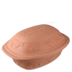 Форма для запекания на 2,5кг мяса с крышкой ROEMERTOPF Rustico арт. 119 05