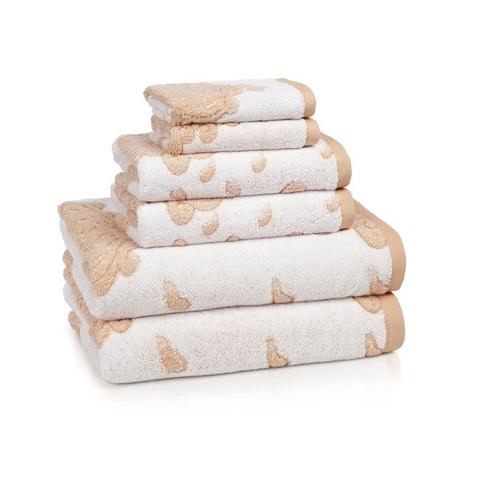Полотенце для ног (банный коврик) 51х86 Kassatex Roma Coral ROM-175-COR