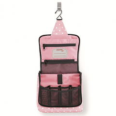 Сумка-органайзер Reisenthel Toiletbag panda dots pink WH3072