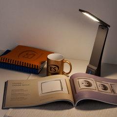Настольный светодиодный светильник Desk черный/серый TL90450 Elektrostandard