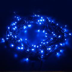 Гирлянда нить голубой 5м IP20 Eurosvet 400-001 400-001 голубой 5м IP20