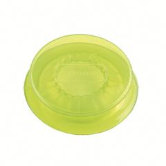 Набор из 2 силиконовых крышек Capflex M зеленый Silikomart 25.029.90.0061