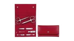 Маникюрный набор 5 пр. INOX красный Zwilling 97436-003