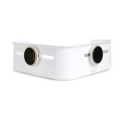 Полочка для душа угловая Flex белая Umbra 1004435-660